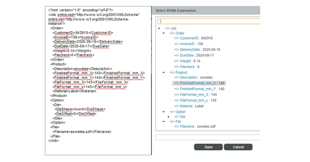 Workscpace Pro X XML